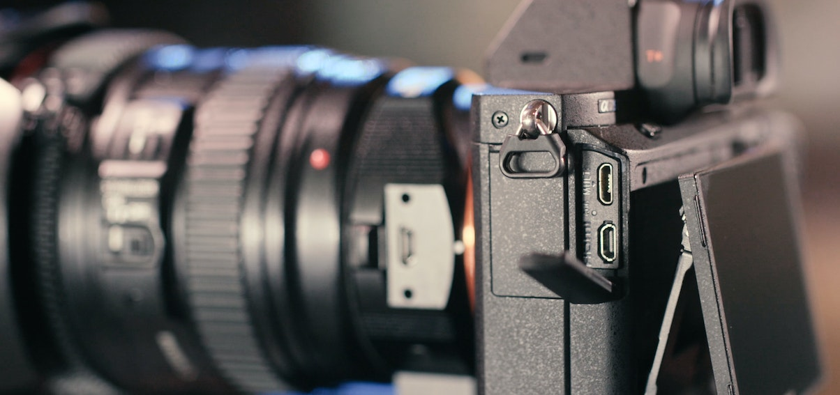 How to use an External Battery with the Sony a7S II