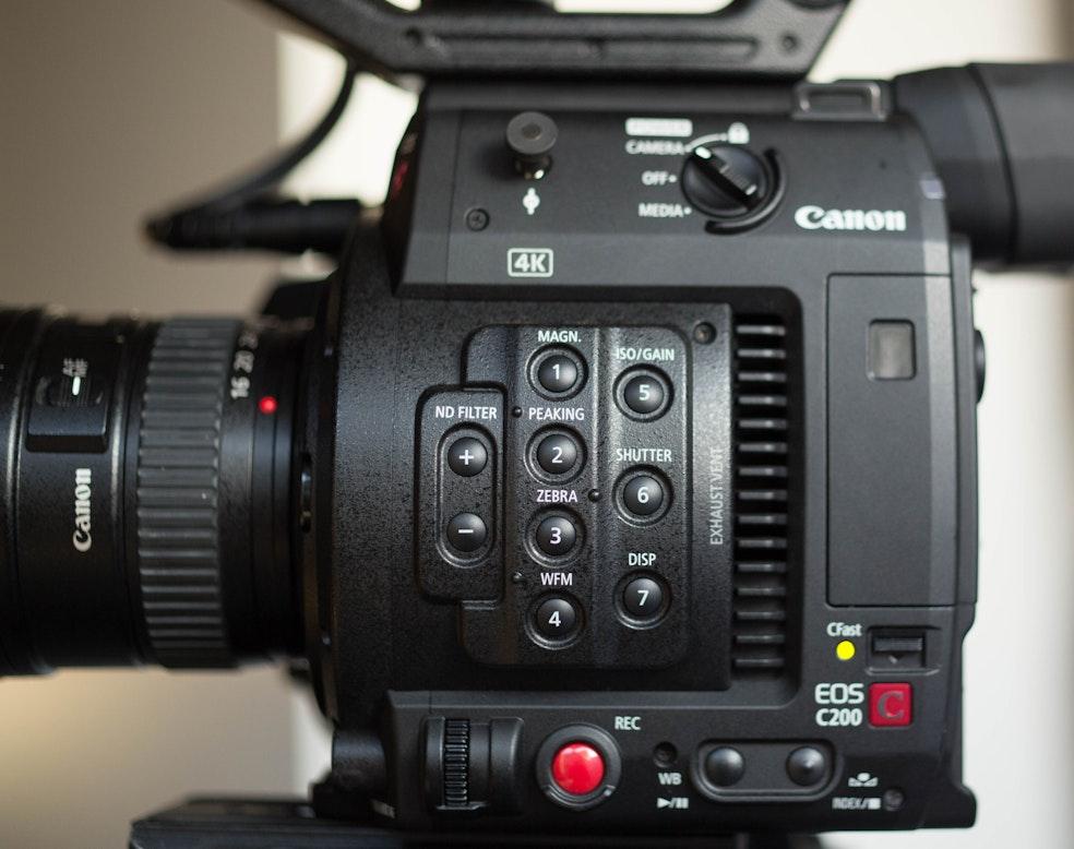 8-bit vs 12-bit on the Canon C200